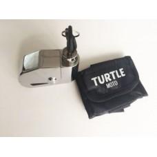 Turtle Moto Alarmlı Disk Kilit (Krom)