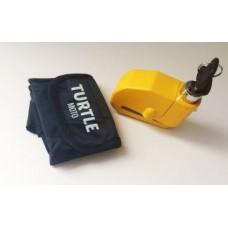 Turtle Moto Alarmlı Disk Kilit (Sarı)