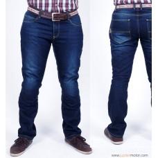 Turtle Moto Kevlar Kot Pantolon (Mavi)